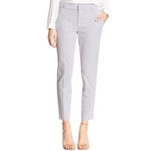 Banana Republic Hampton Seersucker Crop Pants